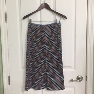 Colorful Easy Fit Skirt
